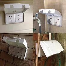 Double-type 86 Switch Socket Protector Cover Electric Plug Cover Baby Child Safety Box Switch Waterproof Case Home Decorations
