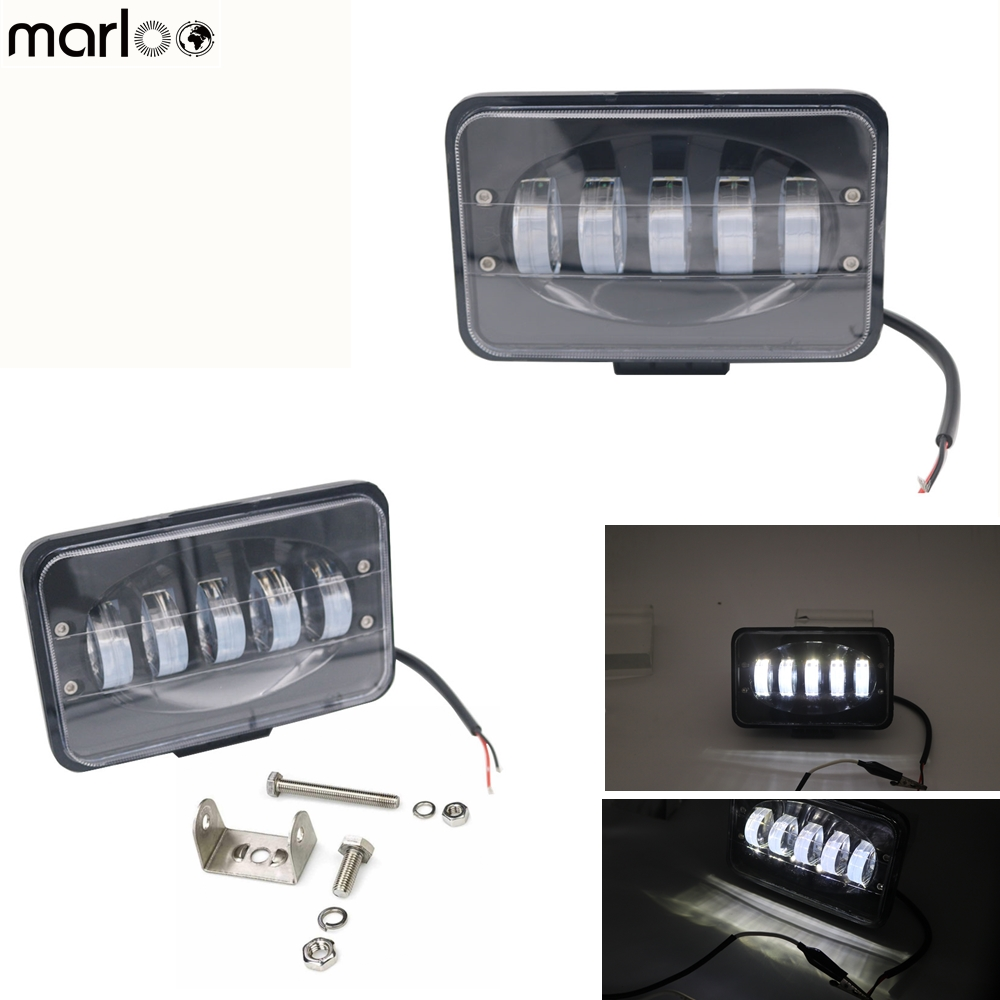 Marloo Led Work light 6 inch 50W Led Bar for Off Road 4x4 4WD ATV UTV