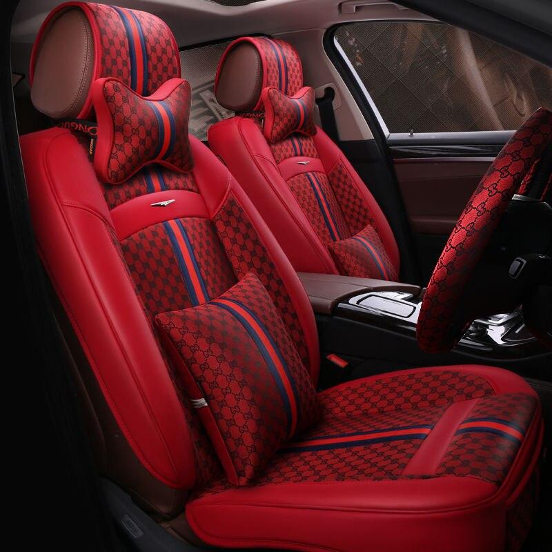 6D Стайлинг автокресло Чехол для Kia Sorento Sportage Optima K5 Форте Рио/K2 Cerato K3 Carens Soul Cadenza, волокно, автомобилей pad