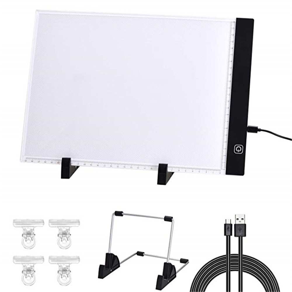 Dimmable A4 Led Light Pad,tablet,tools,diamond Embroidery,accessories for Diamond Painting Light Board Bracket Plastic Clip