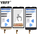 Original For LG L Bello D331 D335 D337 Digitizer Touch Panel Touch Screen Front Glass Panel Tools Logo + Adhesive Free Shipping