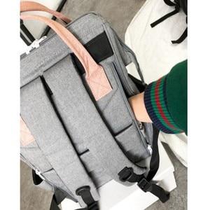 Image 5 - オリジナル Anello バックパック大容量オックスフォード防水ノートパソコンのバックパックティーンエイジャー男性スクールバッグ女性おむつバッグ旅行バッグ
