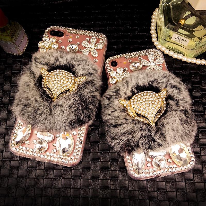 YESPURE Fancy Crystal Fox հեռախոսի կափարիչը Iphone 6 - Բջջային հեռախոսի պարագաներ և պահեստամասեր - Լուսանկար 4