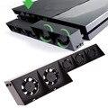 Продвижение 2016 Новый USB Вентилятор Охлаждения 5 Кулер Внешний Turbo Контроля Температуры Для Sony Playstation 4 Для PS4