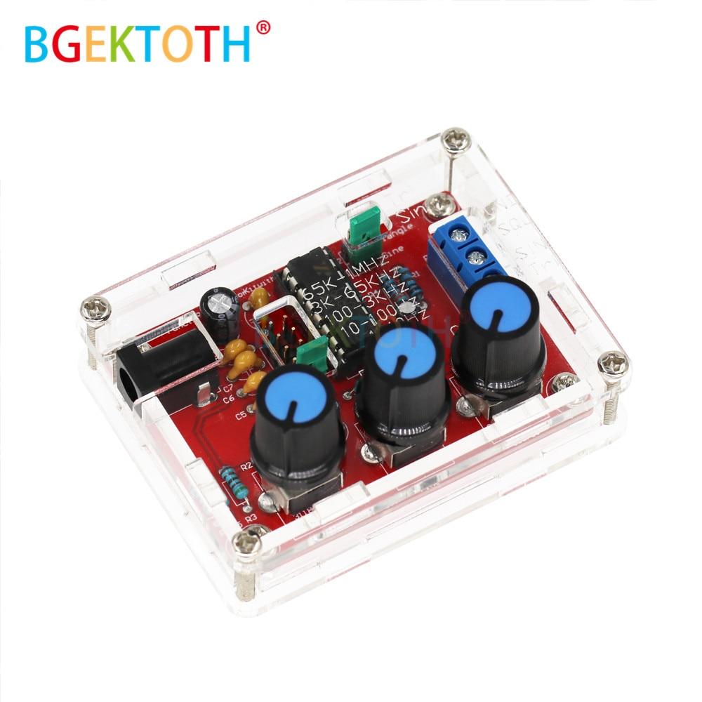 Комплект для сборки XR2206, синусоидальный треугольник, прямоугольная волна, выход 1 Гц-1 МГц, Функция DDS, генератор сигналов, регулируемая ампли...