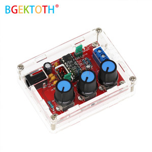 XR2206 DIY Kit Sine Triangle Square Wave Output 1HZ-1MHZ DDS Function Signal Generator Adjustable Frequency Amplitude(China)