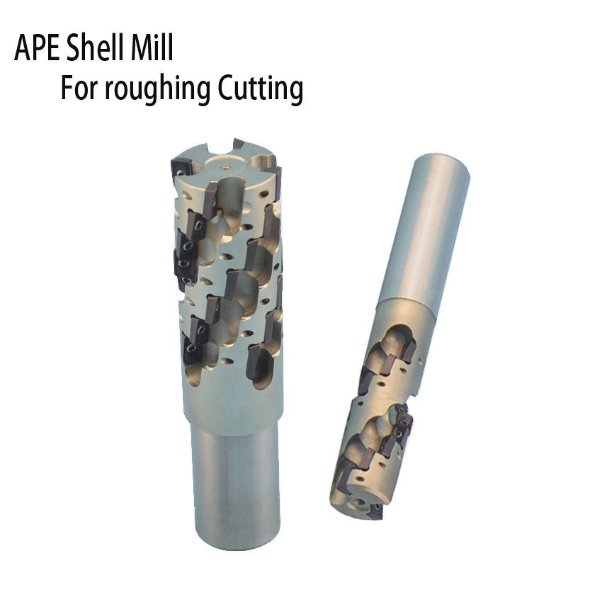 High speed good quality APE shell mill for roughing C20 C25 C32 C40 corn large cutting mills made in china APMT1135 APMT1604 цена