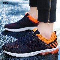 PYG 스포츠 신발 남성 실행 해 신발 클래식 운동화 통기성 쿠션 디자인 남성 스포츠 신발 쉽게 일치 신발 s001