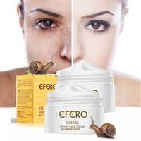 EFERO Snail Face Cream Hyaluronic Acid Moisturizer Anti Wrinkle Anti Aging Nourishing Collagen Snail Serum Day Cream Skin Care