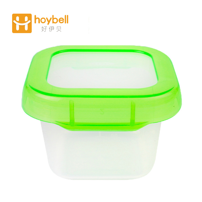 Hoy bell Safe Baby Food Kontejner Set Blok Snacks Skladovací box pro Baby Kid Batole Milk Powder Formule Dispenser 1ks / set