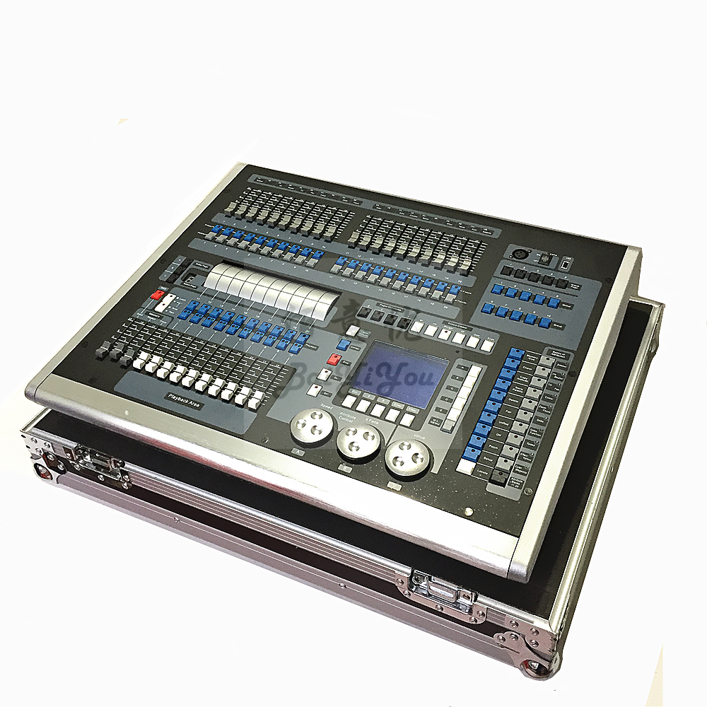 1pc/Lot DJ KingKong 1024P DMX Light Mixer Console Stage Light DMX512 King Kong 1024 Pro Controller With Flight Case-in Stage Lighting Effect from Lights & Lighting    3