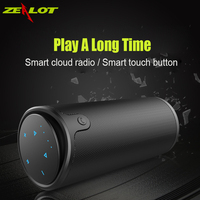 Zealot Wireless Bluetooth Speaker Portable HIFI Bass LoudSpeaker Waterproof TF Card USB AUX Power Bank For