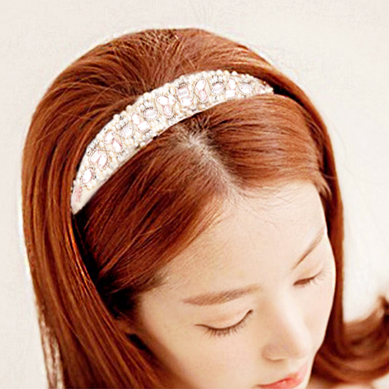 Hair Accessorie Crystal Jewelry Beads Hairband Selling Hair Accessories Headbands Wedding Hair