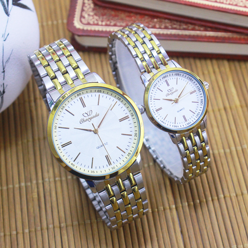 2018 Cyd New Ultra-thi Women Men Couples Lovers Dress Fashion Quartz Watch Gold Sliver Stainless Steel Wristwatches Religious