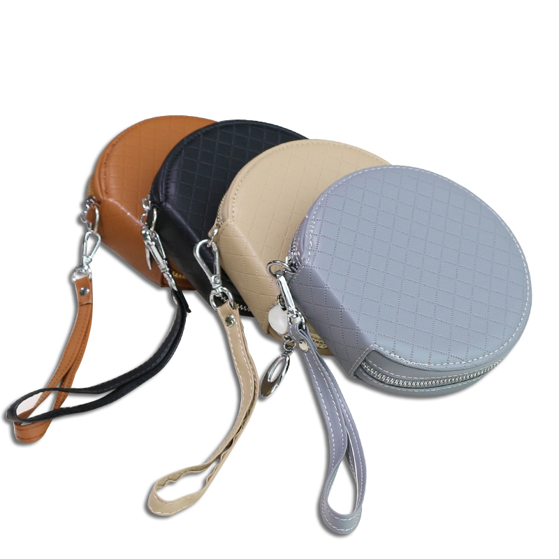 Wearable Durable Car Home Office PU Leather 20 Piece High Capacity Disc CD VCD DVD Thick Storage Case Bag Wallet Holder