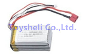 Borong BR6508 spare parts Battery <font><b>11.1V</b></font> <font><b>2200mah</b></font> BR 6508 RC Helicopter Accessories image