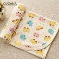 Spring Summer Thin Baby Blanket for Newborns Swaddleme Cotton Soft Cartoon Parisarc Manta Kids Bath Towel Baby Quilt BB185