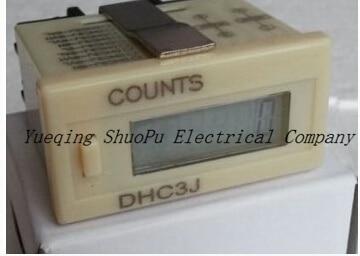 DHC3J-6LDigital mechanical counter Electronic Digital Counter Digital Display Counter electronics