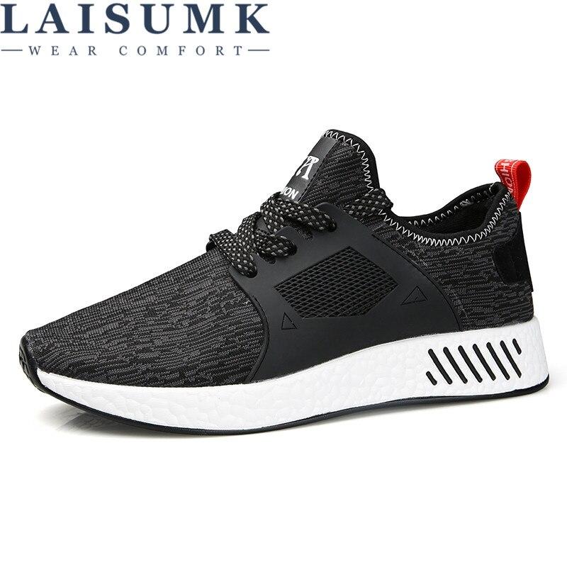 39 De Alta rojo Transpirable 2019 Lujo Hombres Para Tamaño Adultos 44 Grande Mans blanco Calidad Moda Laisumk Negro Diseñador Zapatos ngxqBZYB