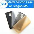 Leagoo m5 case alta qualidade ultra fina anti-knock matte tpu silicone case capa para leagoo m5 telefone inteligente
