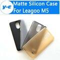 Leagoo m5 case ultra thin de alta calidad antidetonantes case cubierta mate de tpu silicio para leagoo teléfono inteligente m5