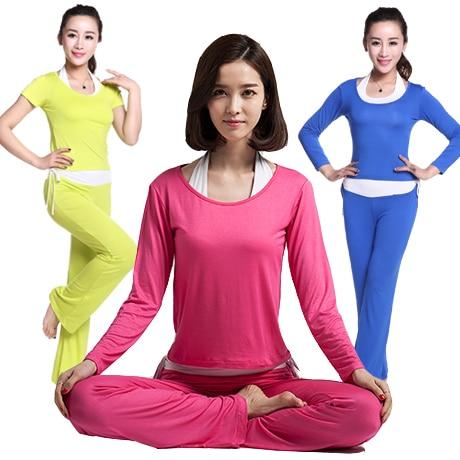 2017 conjunto de tres conjuntos de Yoga deportivo para correr gimnasio ropa deportiva para mujer cintura elástica Yoga trajes Fitness entrenamiento ropa
