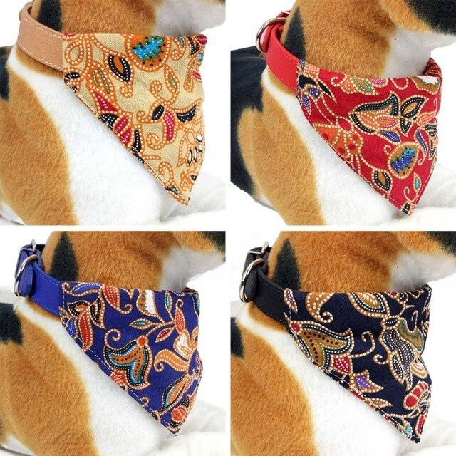 Japanischen Stil Hund Bandanas Baumwolle Waschbar Pet Bandanas Schal Bogen krawatten Kragen Katze XS-L hund Schal Hund Zubehör