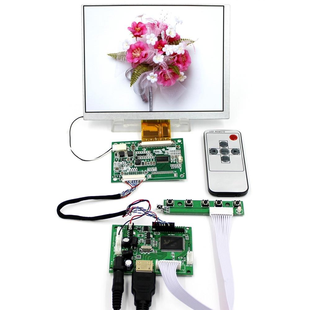 HDMI LCD Controller Board With 7inch 800x600 CLAA070MA0ACW LCD Screen