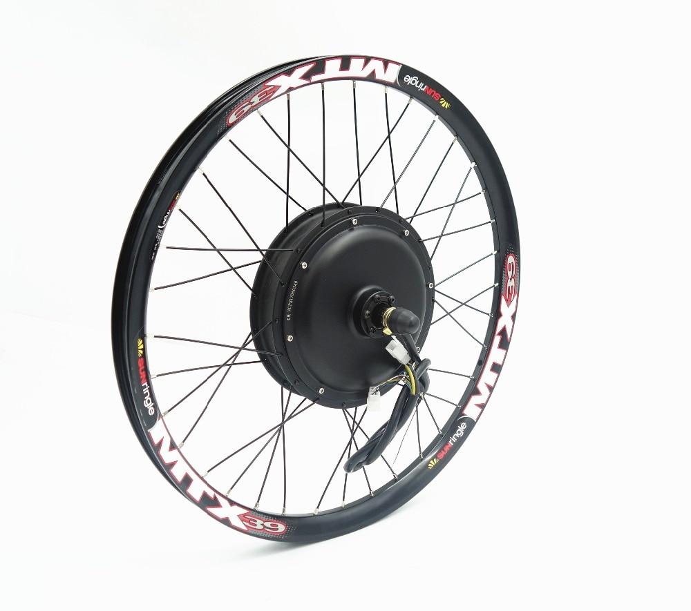 HTB1lP.kmyMnBKNjSZFzq6A qVXa5 - Electric bicycle bike kit 48V 1500W Rear Motor Wheel ebike conversion Kit with 52v 13ah Tigher shark lithium battery