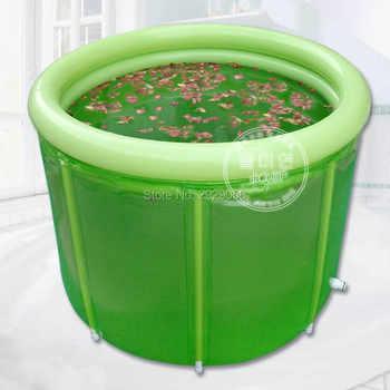 ขนาด 100*80 cm Beauty Extra ขนาดใหญ่ Inflatable อ่างอาบน้ำ,ผู้ใหญ่พับอ่างอาบน้ำผู้ใหญ่อ่างอาบน้ำ, bath Barrel Air Condit