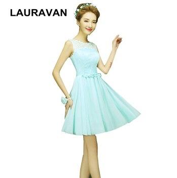 Señoras senior luz azul verde menta chifón fiesta-Vestidos-corta ocasión especial falda dama de honor vestido estilo 2020 vestido formal