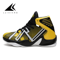 2017 Basketball Shoes Outdoor Sports Men Shoes Jogging Luminous Male Adult Sport Shoes Breather Lace Up