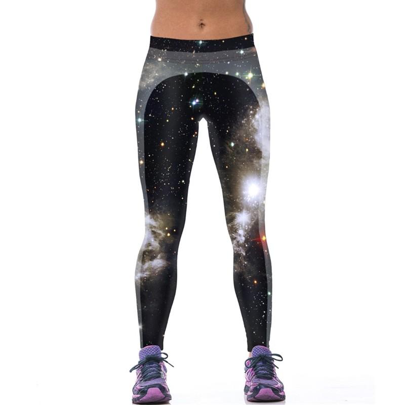 EAST-KNITTING-F1475-New-Style-Women-s-Sport-Leggings-Fashion-Starry-Night-Leggings-Middle-Waist-Elastic