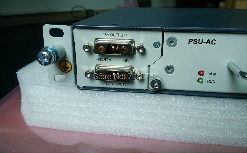 PSU-AC, 30A, Redresseur 48 V/alimentation, avec 2 pièces 15A module changement 220 V AC à 48 V DC alimentation, utilisation pour C300, C320, C220 etc OLT