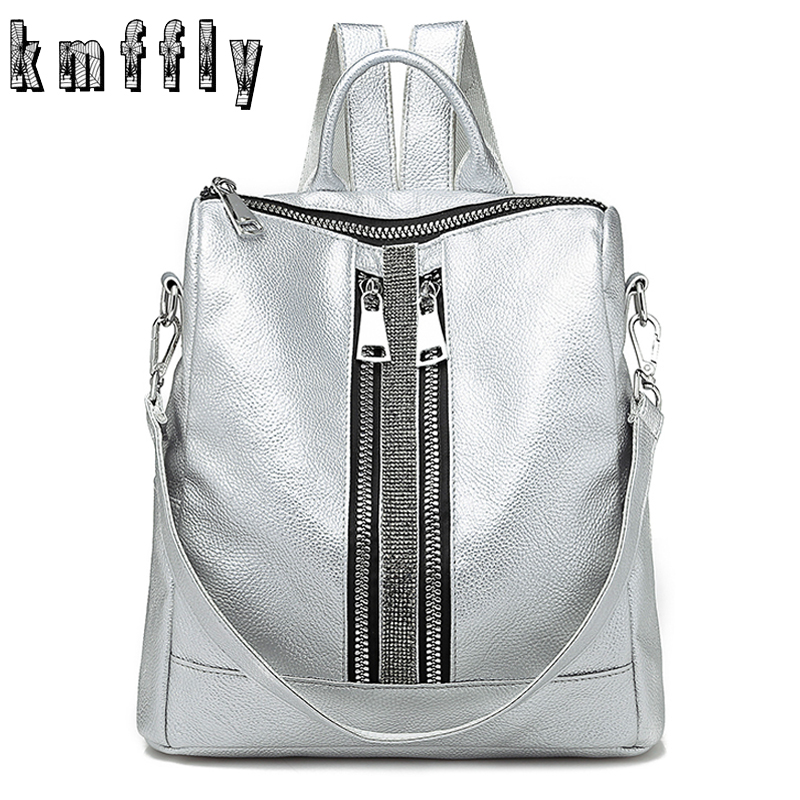 4a0ed52802f US $15.72 41% OFF|2019 High Quality PU Leather Backpacks for Teenage Girls  Female School Shoulder Bag Bagpack mochila Fashion Women Backpack-in ...