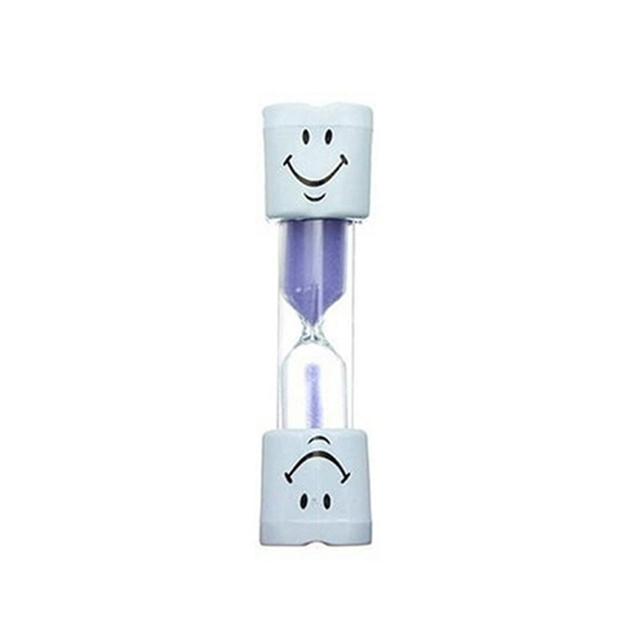 2 Minute Smileys Hourglass Kids Tooth Brushing Timer Clock Home Decor Alluring