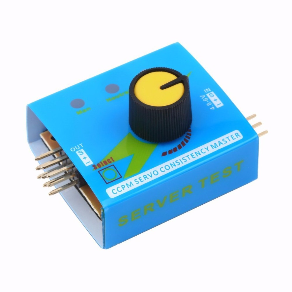 Multi Servo Tester 3CH ECS Consistency Speed Controler Power Channels CCPM Meter Servo Motor For Arduino UNO R3 SG90