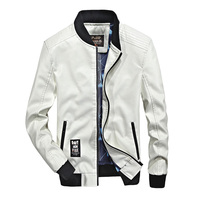 MEN S JACKETS AUTUMN PLUS SIZE S 4XL COATS CASUAL FASHION STAND BOMBER JACKETS MEN REGULAR