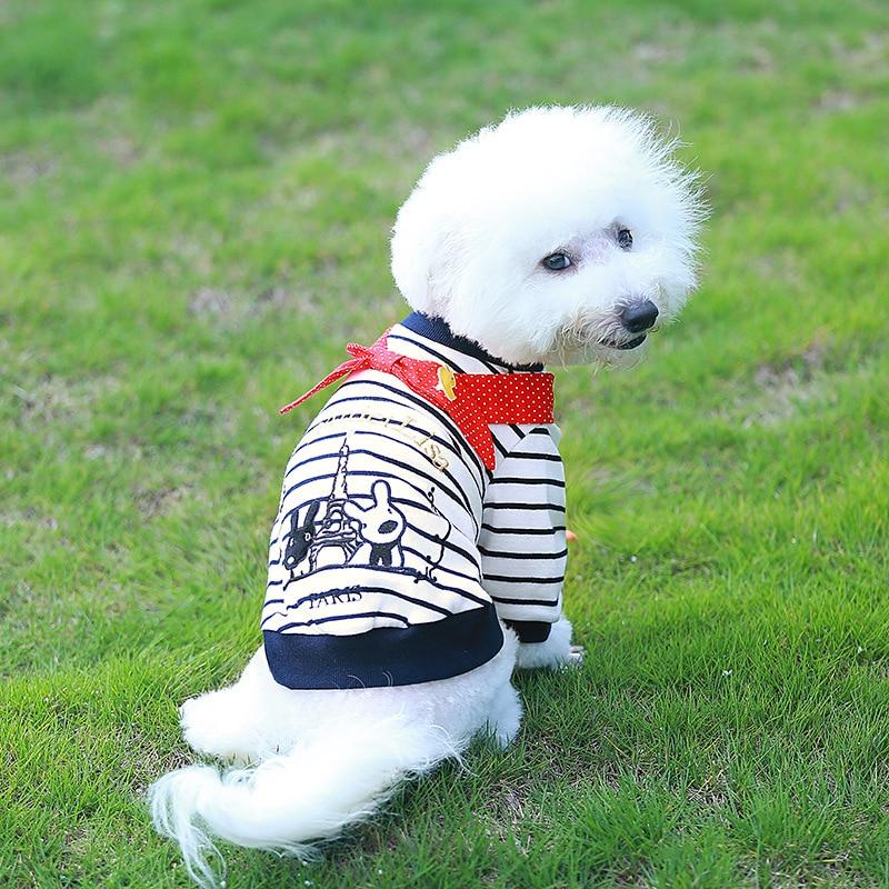 PipiFren Anjing Kecil T Shirts Spring Cartoon Chihuahua Jaket - Produk haiwan peliharaan - Foto 3