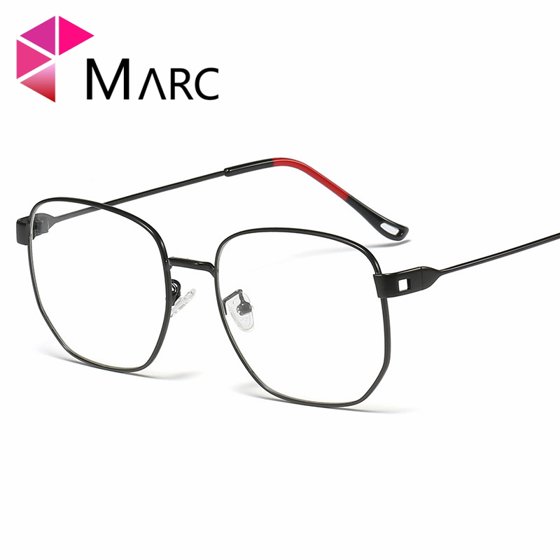 MARC Fashion Eyeglasses Men Women Brand Designer Square Eye Glasses Frames Clear Optical Myopia Eyewear oculos