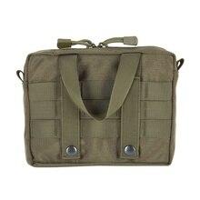 Водонепроницаемый 600D поясная сумка, походная охотничья Военная Тактическая Molle сумка для наружного хранения