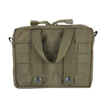 d01fc40dd8b9 Водостойкая 600D поясная сумка походная охотничья Военная Тактическая Сумка  для хранения на открытом воздухе