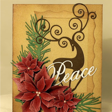 Words Peace Letters Metal Cutting Dies Stencils For DIY Scrapbooking Decorative Embossing Craft Die Template New 2019
