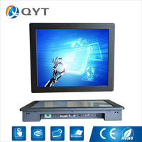 OEM And ODM LCD Display Resistance 17 1280 1024 Lcd Led Display Touch Embedded Monitor With