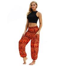 e16251944 Mujeres pantalones Harem hippie Aladdin estilo Boho Harem pantalones  Bloomers Nepal Palazzo Mujer Pantalon Tailandia Mujer