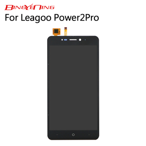 Image 2 - BingYeNing New Original For Leagoo Power 2 Pro Touch Screen+ LCD Display Assembly Replacement