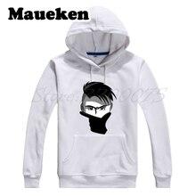 512330e37 Maueken Men Hoodies La Joya Paulo Dybala 10 mask gestures Sweatshirts  Hooded Thick