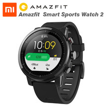 Xiaomi Huami Amazfit 2 Amazfit Stratos Pace 2 Smart Watch with GPS Xiaomi Watches PPG Heart Rate Monitor Firstbeat VO2max(China)