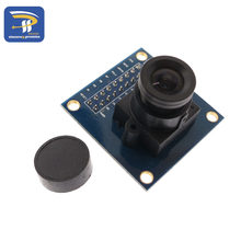 ov7670 camera module Supports VGA CIF auto exposure control display active size 640X480 for arduino(China)
