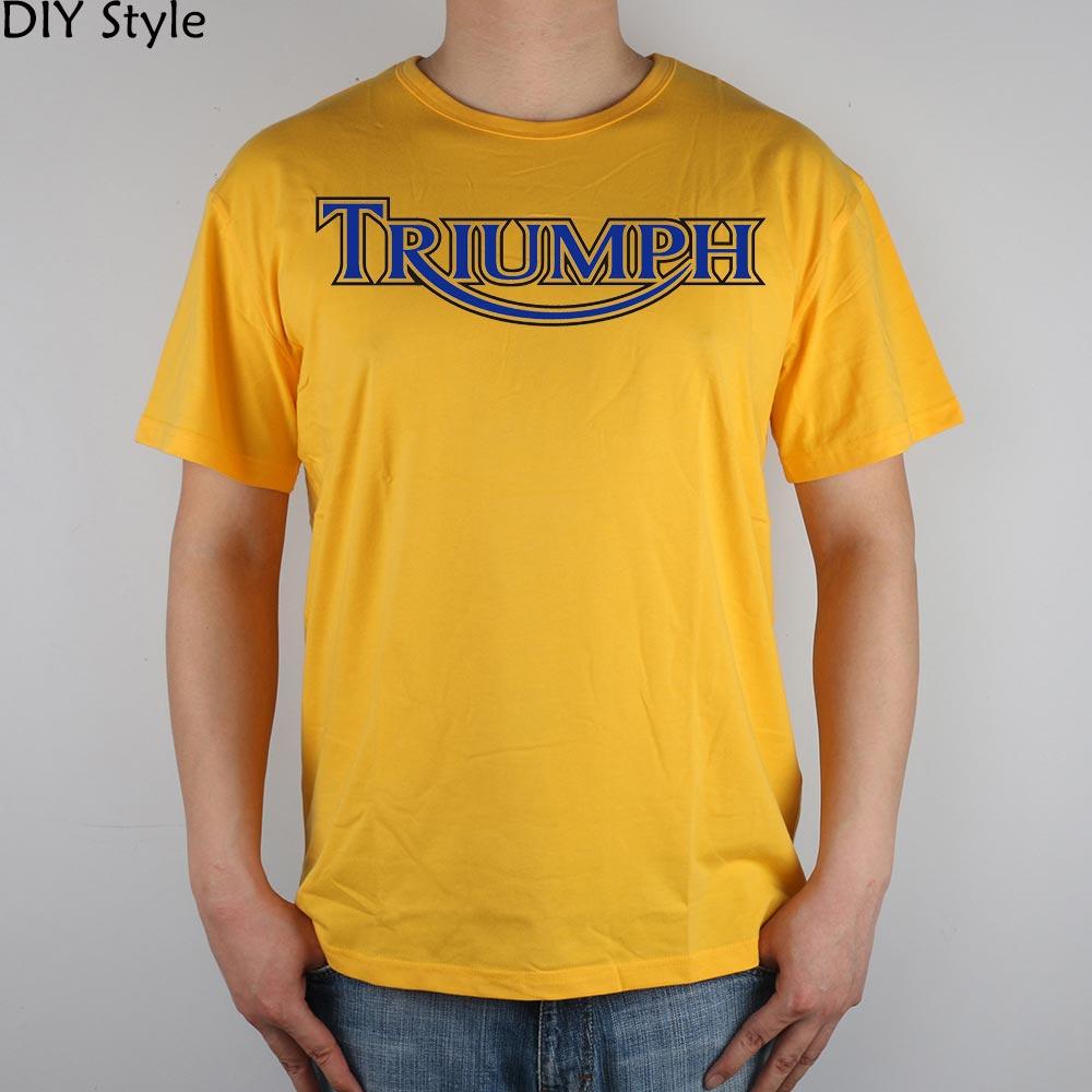 T shirt design uk cheap - Uk Motorcycle Coaster Runaway Triumph T Shirt Top Lycra Cotton Men T Shirt New Design